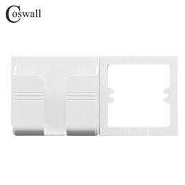Telefon Tutucu Coswall Duvar Soket Smartphone Aksesuarları Cep Telefonu Için Her Marka Telefon Tutucu Destek Standı