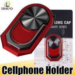 $enCountryForm.capitalKeyWord Australia - 2019 Fashion Thin Cellphone Ring Holder 360 Degree Rotation Finger Ring Holder Magnetic Car Bracket for Samsung Note 10 iPhone XI Max XR