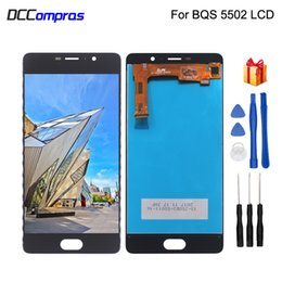 bq touch screen replacement UK - For BQ BQ-5202 BQ5202 BQ 5202 BQS 5202 LCD Display Touch Screen Digitizer Replacement Phone Parts With Free Tools