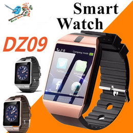 $enCountryForm.capitalKeyWord Australia - DZ09 Smart Watch Dz09 Watches Wristband Android Watch Smart SIM Intelligent Mobile Phone Sleep State Smart Watch Cradle Design