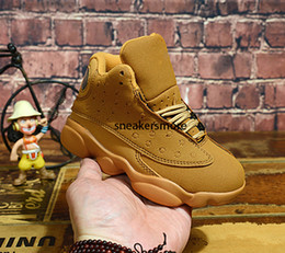 youth kids basketball shoes UK - New 13 Kids Basketball Shoes Children J13s High Quality Sports Shoes Youth Basketball Cheap Sneakers For Sale Size: US11C-3Y EU28-35