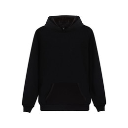 $enCountryForm.capitalKeyWord NZ - 2019 Latest Hooded Sweatshirt High Quality Black Hoodies Solid Color Clothing Hip Hop Pullover Hoodie 4xl Plus Size Streetwear MX190803