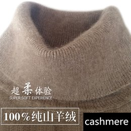 Crochet Sweater Xl Australia - Cashmere Turtleneck Men Sweater Clothes For 2019 Autumn Winter Jersey Hombre Pull Homme Hiver Pullover Men High-neck Sweaters T190618