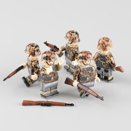$enCountryForm.capitalKeyWord Australia - Ww2 Military Army Soldier Figures Building Blocks German Autumn Army Soldier Weapon Helmet Accessories Bricks Toy For ChildrenMX190820