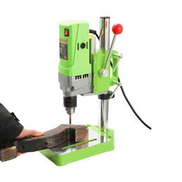 Gear Working Australia - Mini Drilling Machine Drill Press Electric Drill DIY Metalworking 710W Electric Work Gear Portable High Accuracy Bench Drill