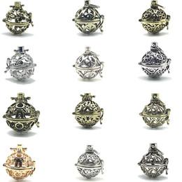 $enCountryForm.capitalKeyWord NZ - Hot sales of pregnant women fetal piano beads magic box pendant aromatherapy essential oil necklace pendant