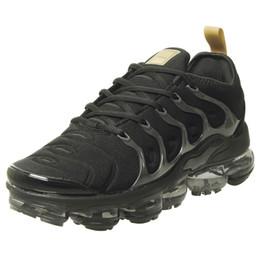 49 цветов 2019 TN Plus мужские кроссовки Кроссовки дышащий воздух Cusion Desingers обувь тройной черный белый синий темно-серый новое поступление на Распродаже