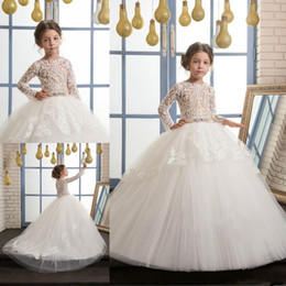 $enCountryForm.capitalKeyWord NZ - Lace Backless Cheap Flower Girl Dresses Cap Sleeves Baby Girl Birthday Party Christmas Communion Dresses Children Party Dresses