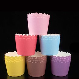 $enCountryForm.capitalKeyWord Australia - 12 50PCS Cupcake Paper Cups Cake Forms Cupcake Liner Baking Muffin Box Cup Case Party Tray Cake Mold Party Decorating Tools