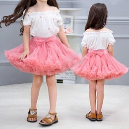 $enCountryForm.capitalKeyWord Australia - Girls tutu skirt extra fluffy pettiskirt princess soft tulle kids girl party dance skirts 1-10 Years baby