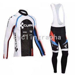 $enCountryForm.capitalKeyWord Australia - BIC CUBE Team Men long sleeve jersey bib pants sets Cycling Jerseys MTB Maillot Ropa Ciclismo Breathable Quick dry bike Clothing Ciclismo