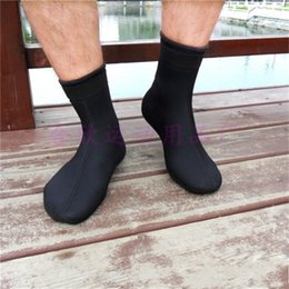 NeopreNe diviNg socks online shopping - Water Sports Diving Socks Scuba Diving Surfing Neoprene mm Swimmming Stockings Pure Color Snorkeling Boots Safety Warm hx E1