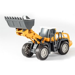 bus toy models 2019 - New Fashion Arrival DIY Assembly Large Simulation Engineering Vehicle Model Excavator Car Toys Ornament Entertainment ch