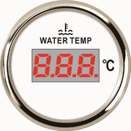 Digital Temp Meter Australia - Car Boat Digital Water Temp Gauge Meter 40-120 With Backlight 52mm 9-32V