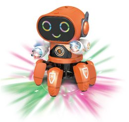 $enCountryForm.capitalKeyWord NZ - Robot Octopus Music Dancing Doll Battery Operated Electronic Animal Walking Toys for Children