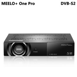 hd satellite iptv Australia - MEELO+ONE PRO 1080P Full HD DVB-S2 Satellite Receiver H.265 HEVC AVC Linux Sat Receptor Support YouTube Cccam IPTV WEBTV NEW CAM