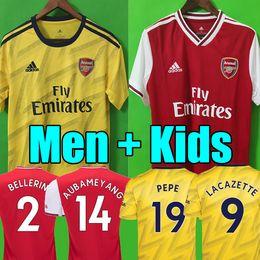 Chinese  MEN + kids 2019 2020 football kits Arsen PEPE soccer jersey 19 20 home away Camisetas de futbol football shirt soccer tops maillots de foot manufacturers