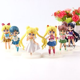 $enCountryForm.capitalKeyWord Australia - Princess Serenity Sailor Jupiter Venus Mercury Mars Sailor Moon Figure Action PVC Collection Model Toys for Kids Girls 6pcs set