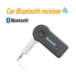 wireless bluetooth receiver for tv UK - Bluetooth Transmitter Receiver Portable 3.5mm AUX Audio Wireless Adapter for Car TV PC Bluetooth Receiver Kit