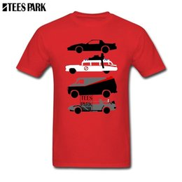 Lowest Price T Shirt Australia - Printing Back To The Future 80s Cars Cute T Shirts Adult Crew Neck Short Sleeve Tee Shirts Low Price Youth Extreme Funny Tee Y190412