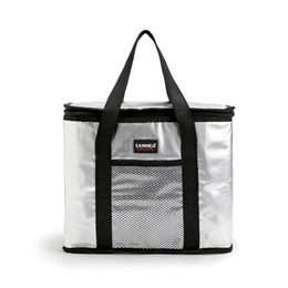 Big Storage Boxes Australia - GUMST 16L big thermal picnic cooler bag insulated lunch box cool handbag ice pack fresh storage vehicle insulation bags