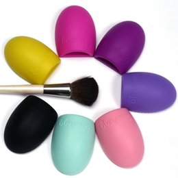 Make Up Egg UK - Hot Sale Brushegg Silicone Brush Cleaning Egg Cosmetic Brush Cleanser Make up Makeup Brush Cleaner Clean tool