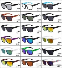 Sunglasses Sports Motorcycle Australia - SUMMER 10pcs men fashion sunglasses sports motorcycle spectacles women Dazzle colour Cycling Sports Outdoor BEACH Sun Glasses free shipping