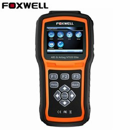 Audi Airbag Resetting Tool Australia - Foxwell NT630 Elite OBD2 ABS Automotive Scanner SRS AirBag Crash Data Reset Universal Diagnostic-Tool Code Reader OBD 2 Scanner