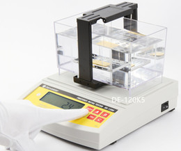 Quality Gold Years Australia - DE-120K 2 Years Warranty Direct Sales Digital Electronic Gold Silver Purity Tester , Gold Purity Detector High Accuracy Good Quality