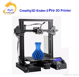Creality3D Ender-3 Pro V-slot Large size Prusa I3 DIY 3D Printers 220 x 220 x 250 mm 1.75 mm Nozzle diameter 0.4 mm Ender - 3 Pro 3D Printer on Sale