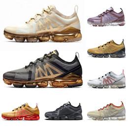 Discount men brand tennis shoes - 2019 VPM Cushions Run Utility Running Shoes men womens tennis fashion brand canyon gold aluminum blue designer sneaker t