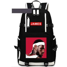 $enCountryForm.capitalKeyWord UK - Profile backpack LeBron James day pack Side face school bag Basketball packsack Laptop rucksack Sport schoolbag Out door daypack