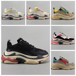 $enCountryForm.capitalKeyWord NZ - 2019Make an old style Paris Triple-S Designer Shoes Low Platform Sneakers Triple S Mens Casual Women designer casual Sports Trainers zapatos