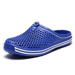 $enCountryForm.capitalKeyWord UK - Men and women summer slippers couple models non-slip sets of feet beach large size bird's nest hole slippers sandals beach shoes