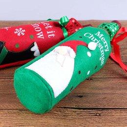 $enCountryForm.capitalKeyWord Australia - 1 Pcs Christmas Wine Bottle Bag Cover Home Christmas Decoration Bottle Sets Decoration Ornament SKD88