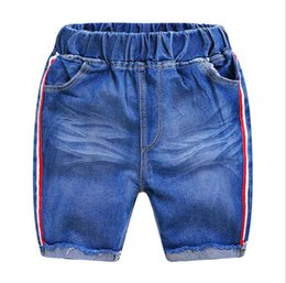 Denim Style For Babies Australia - Toddler Boys Clothes Jean Shorts 2019 Summer Children Casual Shorts For Boys Elastic Waist Shorts Toddler Denim Short Pant Baby Clothing