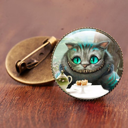 Vintage glass animals online shopping - Art Vintage brooch Forest Animal Lover s Gift Glass dome brooches Bronze brooches High quality Glass art pictures jewelry