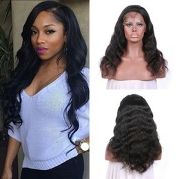 12 14 16 inch wig NZ - Brazilian Human Hair Ear To Ear Body Wave Lace Front Wig 8-30 Inch For Black Women Natural Cuticle Hair Non Processed FDshineHAIR