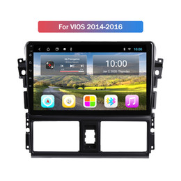 car dvd unit UK - 2G RAM 9 Inch Android 10 Car Gps Dvd Player for Toyota VIOS 2014 2015 2016 Car Radio Multimedia Navigation Stereo Head Unit