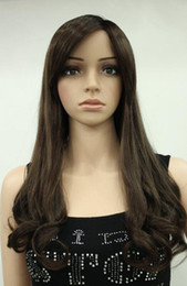 $enCountryForm.capitalKeyWord Australia - WIG LL Hivision heat resistant Party hair Free shipping>>>Fashion Dark Brown Medium Auburn Long Wave Women's Synthetic Wig Ec-TXC05
