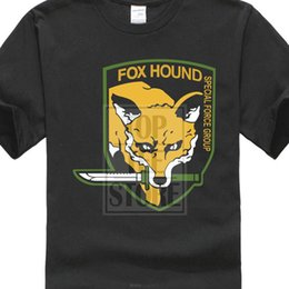 $enCountryForm.capitalKeyWord Australia - Tee Shirt Short Sleeve Tops Wholesale Discount Hound Foxhound Special Force Metal Gear Solid Men's T Shirt Summer O - Neck Hipster Tops