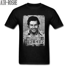 $enCountryForm.capitalKeyWord Australia - Narcos Escobar T Shirt Men Vintage Clothing Narcos Pablo Escobar T-shirt Printed Character Tshirts Cotton Top Black Tee
