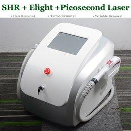 $enCountryForm.capitalKeyWord Australia - 3 IN 1 Picosure picosecond remove tattoo machine multifunctional pico laser treatment SHR IPL Elight skin care rejuvenation tattoo removal