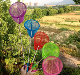 Toy bugs insecTs online shopping - Kids Fishing Toys Telescopic Butterfly Net Extendable Insect Catching Net Anti Slip Grip Fishing Nets for Kids Play Catching Bug
