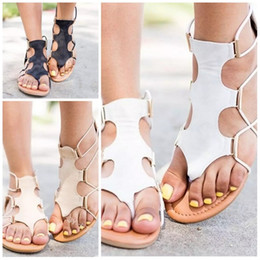 4df924cc71c1 Bohemian Ladies Fashion Thong Sandal Big Code Handmade Beads Sandals Flat  Heel Summer Outdoor Anti Wear Slipper New Arrival 30my I1