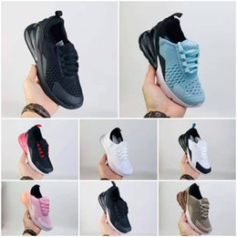 christmas gift shoes NZ - 2020 New Breathable Mesh Kids Running Sneakers 27 and Damping Cushioning Kids Athletic Shoes Christmas gift 22-35