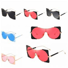 d76761df34681 Big Frame Punk Sunglasses Men Women Polycarbonate Uv400 Steampunk Glass Eye  Wear Lens Sunglasses Shades Vintage Classic Designer LJJW170