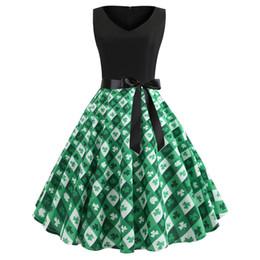 $enCountryForm.capitalKeyWord NZ - Women's Fashion Leave Print Party Prom Swing Slim Dress Valentines' Day Gift Beautiful Dress For Her