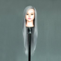 $enCountryForm.capitalKeyWord Australia - Wigs mannequin model can be issued without makeup makeup hair practice head model doll head fake head mold