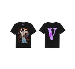 4116dbb2 Vlone A$AP Yams Day T-shirt Men Women ASAP ROCKY t shirt Harajuku tshirt  Hip hop Streetwear Brand Summer Cotton Clothing Tees Tops Clothes